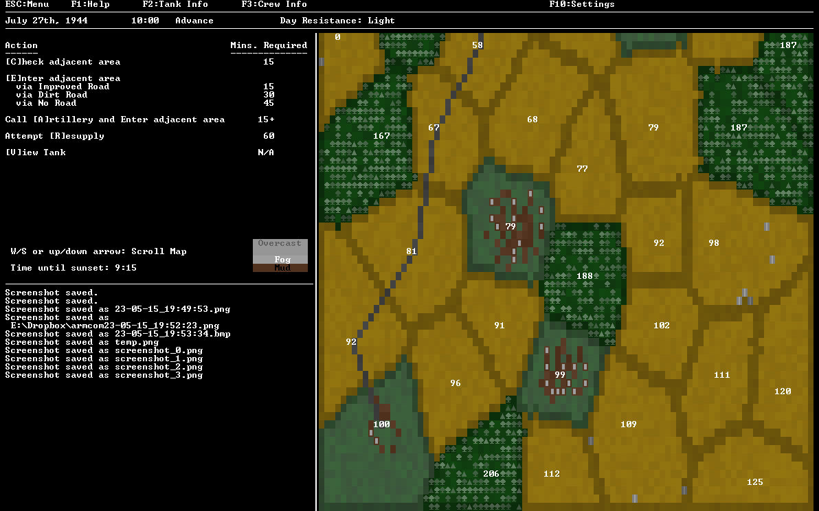 Campaign Day Map | Armoured Commander II